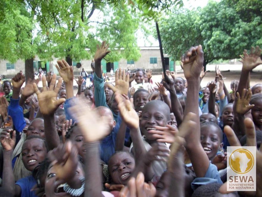 Schüler in Tiakané